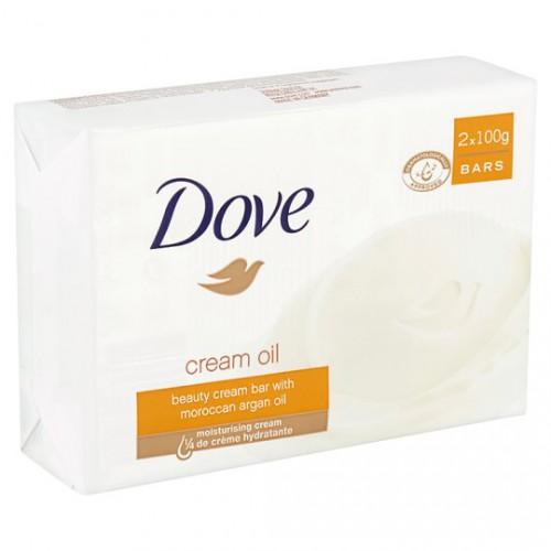 DOVE Mydło w kostce 2 x 100 g CREAM OIL