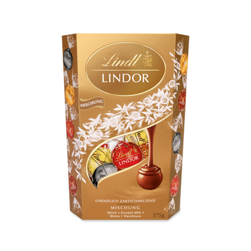 LINDT Lindor Mischung - 200+175g GRATIS mieszanka