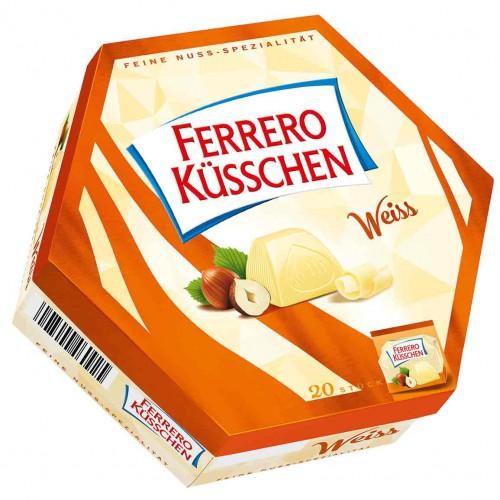 FERRERO Kusschen Weiss praliny 20 szt. 178g