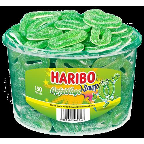 Żelki HARIBO Apfelringe 150 sztuk - 1200g