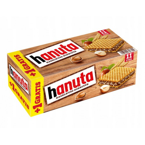 HANUTA Ferrero wafelki orzechowe 11 szt - 242g
