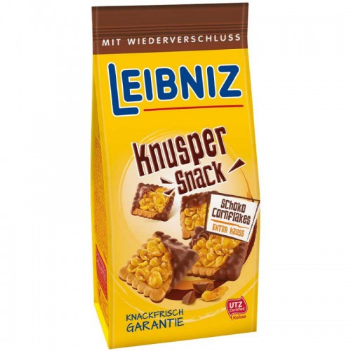 LEIBNIZ Knusper Snack Schoko ciastka/krakersy 150g