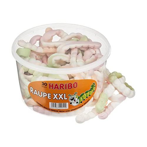 HARIBO Raupe XXL 30 szt/0,96kg piankowe gąsienice