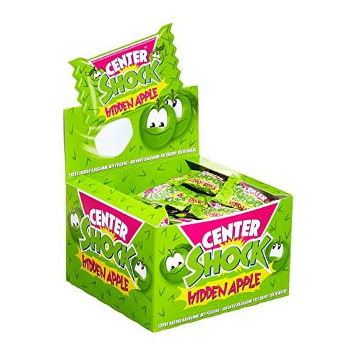 CENTER SHOCK Hidden Apple 100sztx4g gumy do żucia
