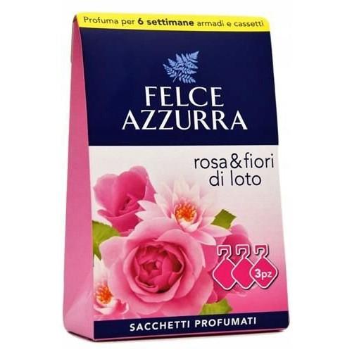 FELCE AZZURRA saszetki zapachowe Róża- 3 szt