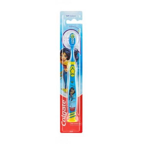 COLGATE szczoteczka do zębów dla dzieci 6+ Girls Żółta
