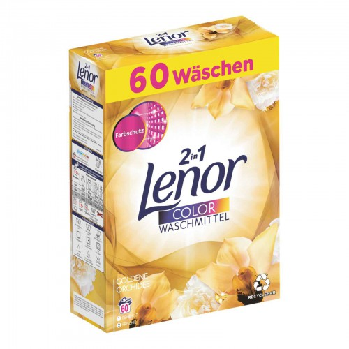 LENOR proszek do prania 60p/3,9kg do tkanin kolorowych