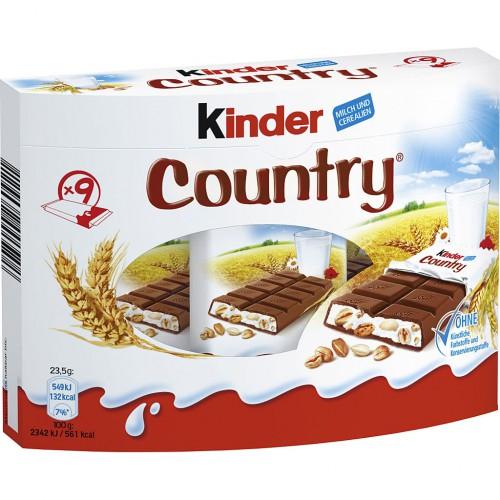 KINDER Country batoniki 9 szt. 211,5g