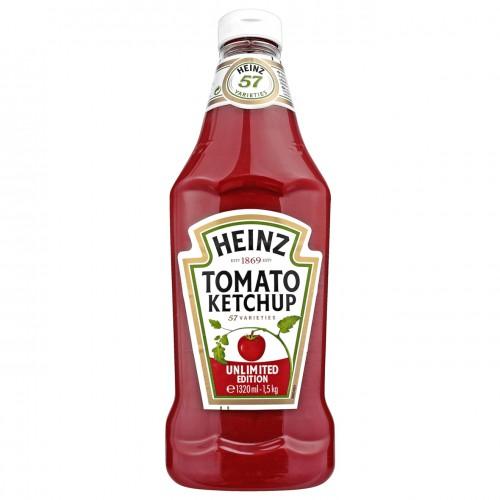HEINZ Ketchup 1320ml - 1,5kg Niemiecki