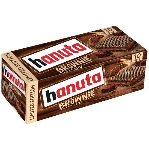 HANUTA Brownie Ferrero wafelki 10 szt - 220g