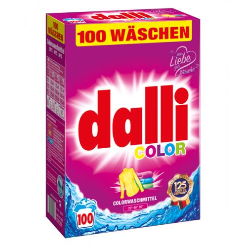 DALLI Proszek do prania 100 prań (6,5kg) KOLOR