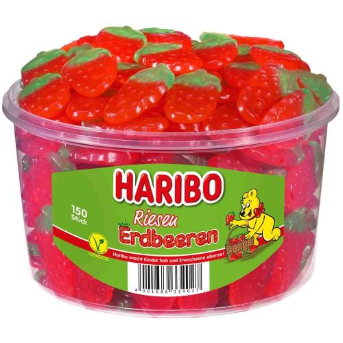 HARIBO żelki Erdbeeren 150 sztuk 1,35 kg