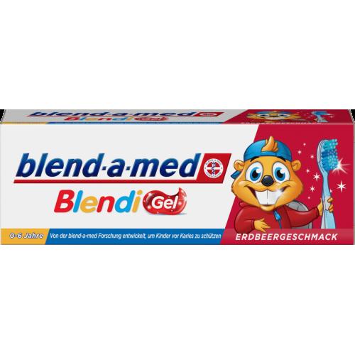 Blend-a-med Blendi GEL Truskawskowa 50 ml 0-6 lat