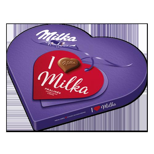 MILKA serce podarunkowe I love Milka 30 pralin 165 g