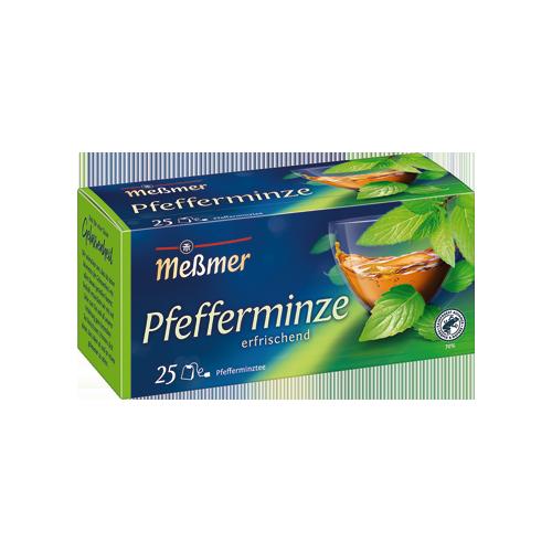 MESSMER Pfefferminze herbata 25x2,25g