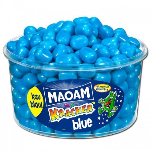 MAOAM KRACHER blue - rozpuszczalne gumy do żucia  265 szt 1200g