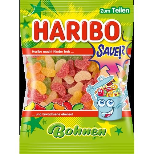 HARIBO żelki Bohnen Sauer - kwaśne fasolki 200g