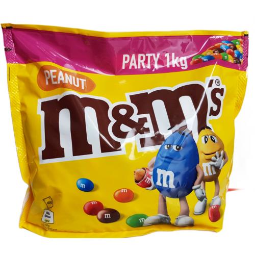 M&M's orzeszki ziemne w  czekoladzie 1 kg