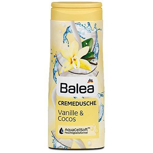 BALEA Żel pod prysznic Vanilia + Kokos 300 ml