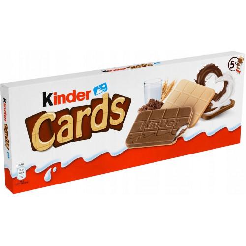 KINDER Cards 5 x 25,6 g to 128 g DE