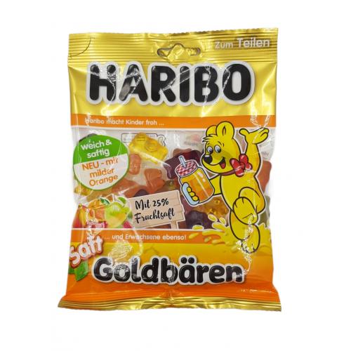 Żelki HARIBO Goldbaren  Saft 175 g  z sokiem