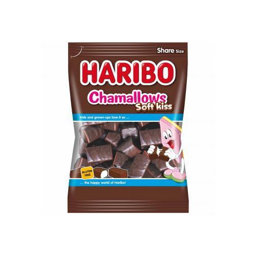 Żelki HARIBO Chamallows soft-kiss czekoladowe 200 g