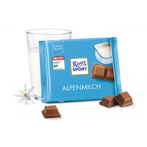 Ritter Sport Alpenmilch 100g niemiecka