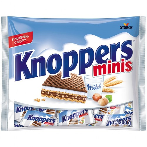 KNOPPERS Minis wafel 200g