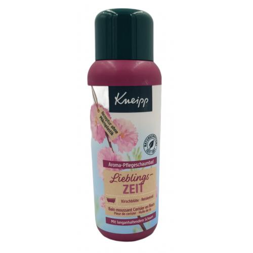 KNEIPP Lieblings-zeit -płyn do kąpieli kwiat wiśni -400ml