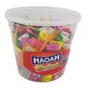 MAOAM Stripes - rozpuszczalne gumy do żucia 150 szt. 1050g