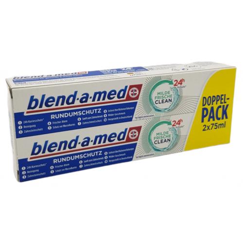 Blend-a-med MILDE Frisch Clean 2x75ml DE