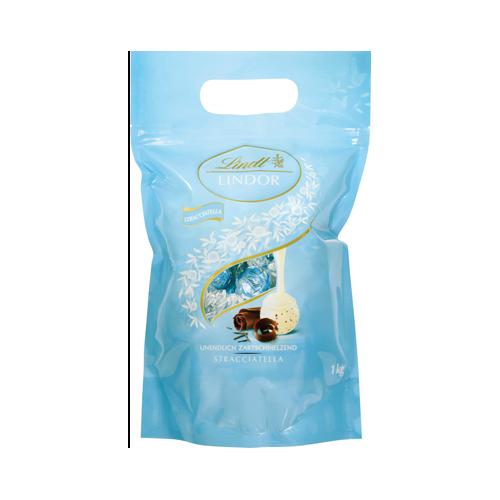 LINDT Lindor Straciatella 1 kg praliny czekoladowe