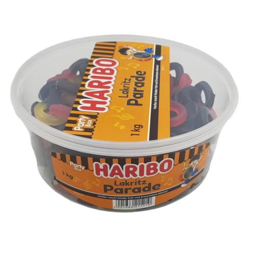 HARIBO Lakritz Parade żelki lukrecjowe 1  kg