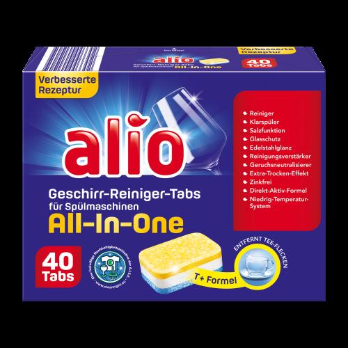 ALIO (Akuta) All in one 40 szt. tabl. do zmywarki