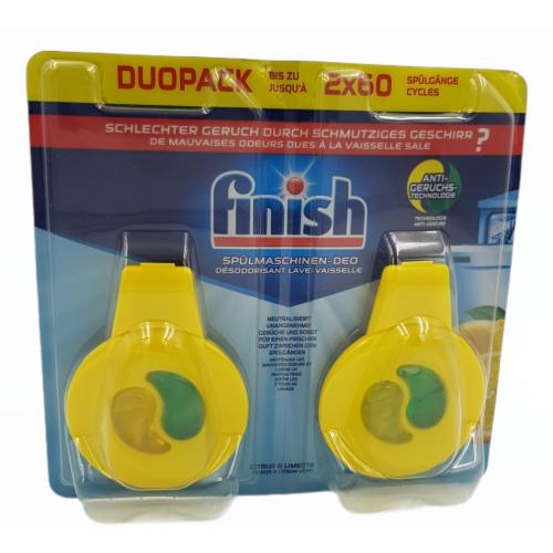 FINISH Deo zawieszka do zmywarki 2pak 2x60 prań