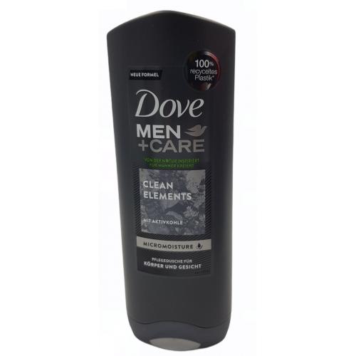 DOVE Żel pod prysznic MEN+CARE Clean Elements 250ml