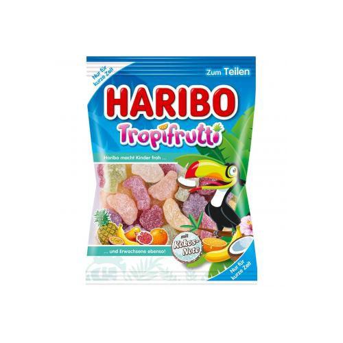 Żelki HARIBO TROPIFRUTTI Kokos  200g limitowane