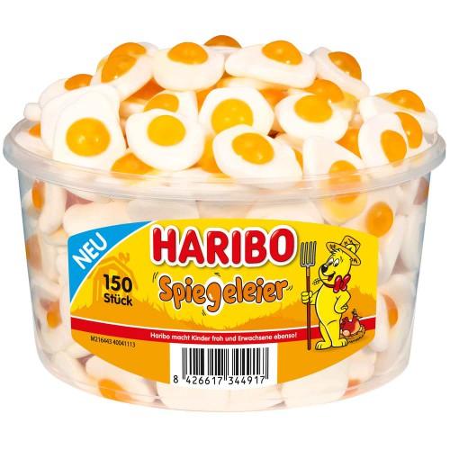Żelki HARIBO Spiegeleier jajka 150 sztuk - 975g