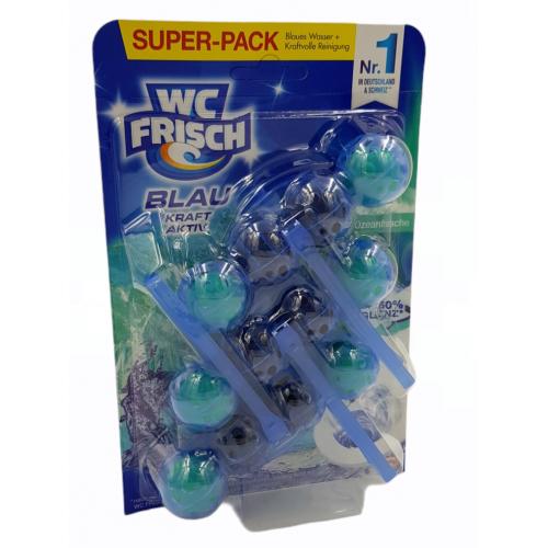 Zawieszka/kostka WC FRISCH Ozeanfrische Super-pack  3x 50g