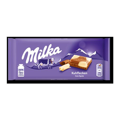 Czekolada łaciata MILKA Kuhflecken 100g