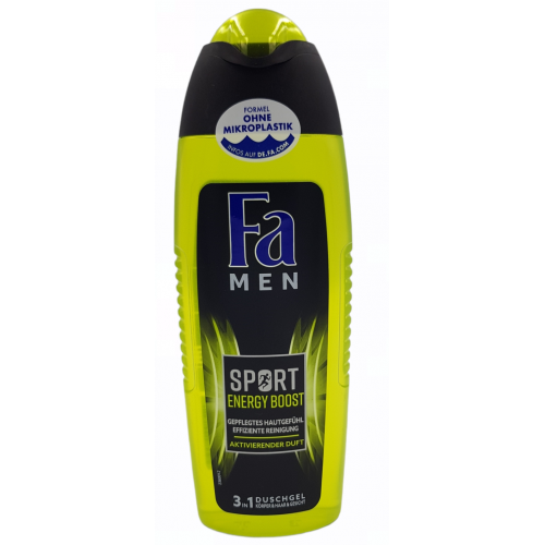 FA MEN Sport Energy Boost 3w1 żel pod prysznic 250ml