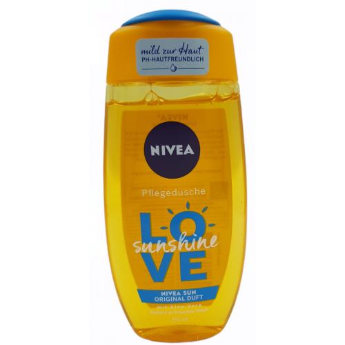 Edytuj: NIVEA żel pod prysznic 250ml Love Sunshine