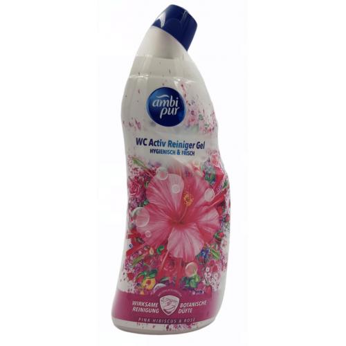 AMBI PUR WC żel hibiskus, róża 750ml