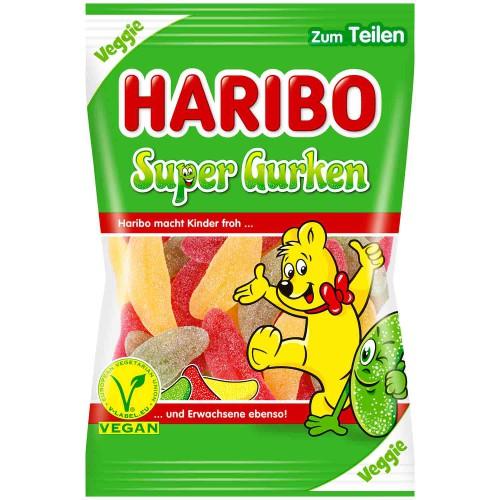 Żelki HARIBO SuperGurken 200g VEGAN