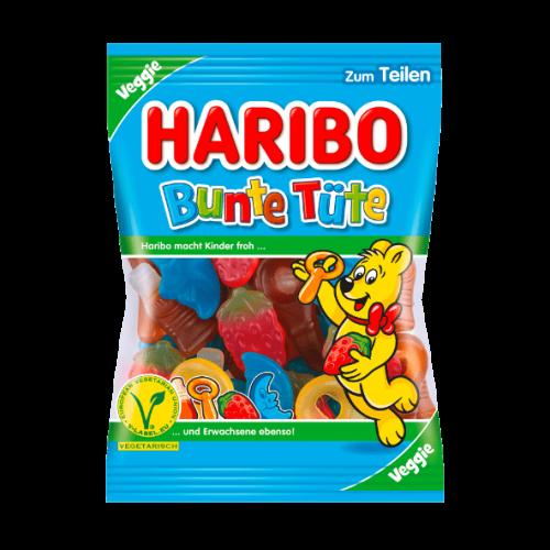 Żelki HARIBO Bunte Tute 200g VEGAN