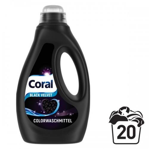 CORAL żel do prania czarnych Black 1,1L