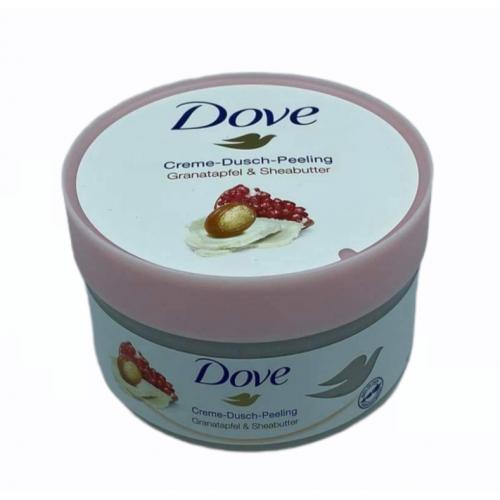 DOVE Creme-dusch peeling 225ml Granatapfel&sheabutter