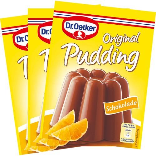 DR. Oetker Schokolade Pudding 3 x 44,5 g