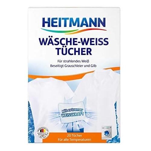 HEITMANN Wasche Weiss Tucher chusteczki wybielające 20szt