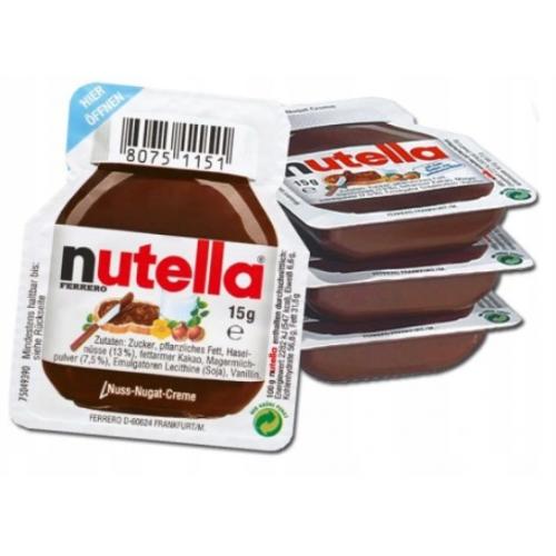 Krem czekoladowy NUTELLA 120 porcji x15g 1,8kg
